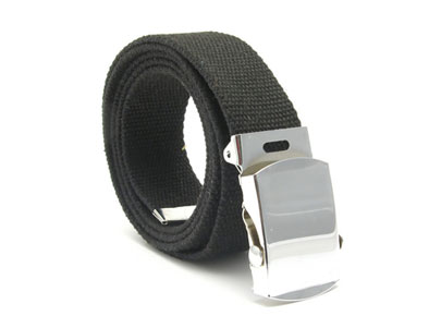 devanet web belt with clutch buckle