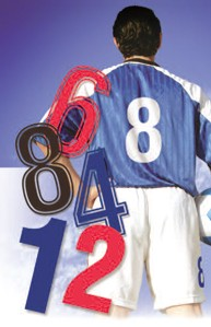 Sports and teamwear numbers